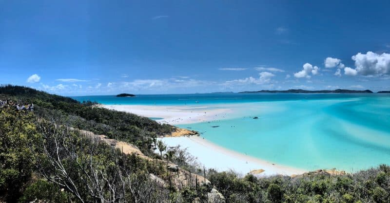 The world's best sailing destinations - Whitsunday Island, Australia