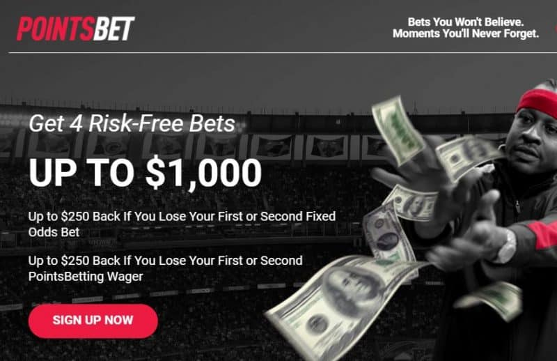 Pointsbet Promo Code Indiana - 1000POINTS